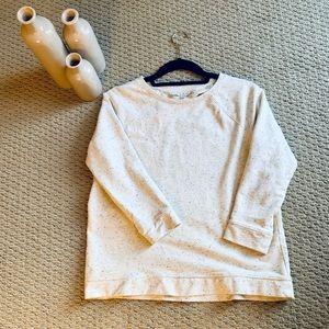 Loft three-quarter sleeve sweater